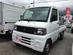 沖縄の中古車 三菱 ミニキャブトラック 車両価格 25万円 リ済込 平成14年 10.2万K ホワイト