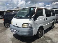 沖縄の中古車 日産 バネットバン 車両価格 34万円 リ済込 平成13年 14.6万K シロ