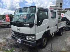 沖縄の中古車 マツダ タイタンダッシュ 車両価格 49万円 リ済込 平成17年 19.6万K ホワイト