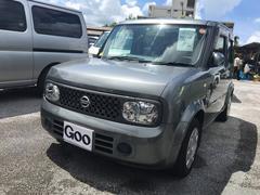 沖縄の中古車 日産 キューブ 車両価格 35万円 リ済込 平成19年 7.4万K グレー