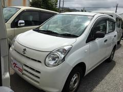 沖縄の中古車 スズキ アルト 車両価格 27万円 リ済込 平成25年 12.1万K ホワイト