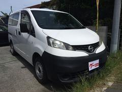 沖縄の中古車 日産 NV200バネットバン 車両価格 49万円 リ済込 平成21年 15.0万K ホワイト