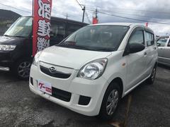 沖縄の中古車 ダイハツ ミラ 車両価格 29万円 リ済込 平成24年 11.2万K シロ