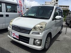 沖縄の中古車 スバル ステラ 車両価格 29万円 リ済込 平成19年 12.8万K パール