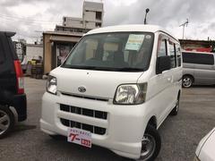 沖縄の中古車 ダイハツ ハイゼットカーゴ 車両価格 34万円 リ済込 平成19年 11.9万K ホワイト