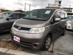 沖縄の中古車 日産 セレナ 車両価格 34万円 リ済込 平成19年 9.7万K ブラウン