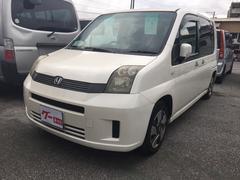 沖縄の中古車 ホンダ モビリオ 車両価格 34万円 リ済込 平成19年 8.4万K パール