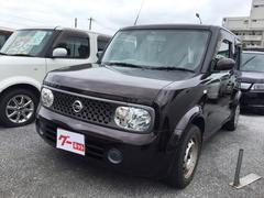沖縄の中古車 日産 キューブ 車両価格 29万円 リ済込 平成20年 11.2万K ブラウンM