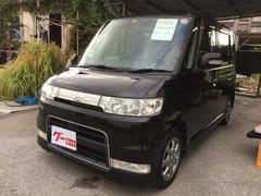 沖縄の中古車 ダイハツ タント 車両価格 37万円 リ済込 平成18年 10.9万K ブラック