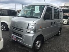 沖縄の中古車 スズキ エブリイ 車両価格 34万円 リ済込 平成22年 12.5万K シルバー