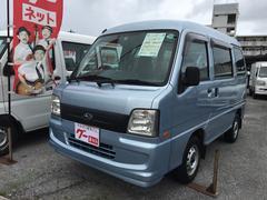 沖縄の中古車 スバル サンバーバン 車両価格 29万円 リ済込 平成18年 11.3万K Lブルー
