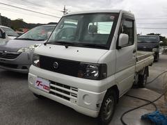 沖縄の中古車 日産 クリッパートラック 車両価格 34万円 リ済込 平成17年 13.1万K ホワイト