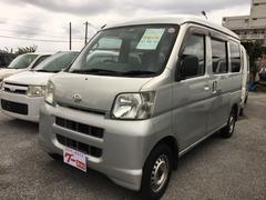 沖縄の中古車 ダイハツ ハイゼットカーゴ 車両価格 34万円 リ済込 平成17年 12.5万K シルバー
