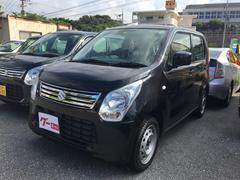 沖縄の中古車 スズキ ワゴンR 車両価格 73万円 リ済込 平成25年 2.6万K ブラック
