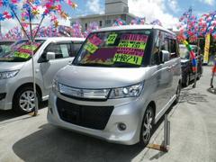 沖縄の中古車 スズキ パレットSW 車両価格 72万円 リ済込 平成22年 8.9万K シルバー