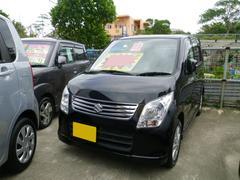 沖縄の中古車 スズキ ワゴンR 車両価格 69万円 リ済込 平成23年 6.3万K ブルーイッシュブラックパール3