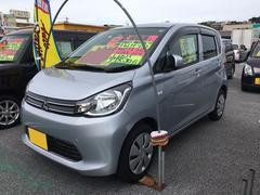沖縄の中古車 三菱 eKワゴン 車両価格 63万円 リ済込 平成25年 5.1万K シルバー
