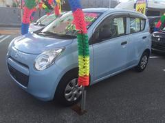 沖縄の中古車 スズキ アルト 車両価格 38万円 リ済込 平成24年 7.8万K ライトブルー