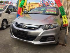 沖縄の中古車 ホンダ インサイト 車両価格 67万円 リ済込 平成24年 5.7万K シルバー