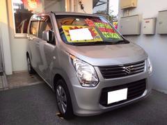 沖縄の中古車 スズキ ワゴンR 車両価格 51万円 リ済込 平成25年 9.5万K シルバー