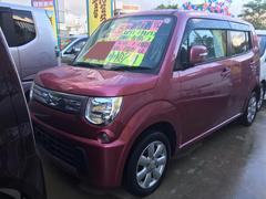 沖縄の中古車 スズキ MRワゴン 車両価格 61万円 リ済込 平成25年 6.1万K ピンク