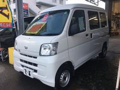 沖縄の中古車 ダイハツ ハイゼットカーゴ 車両価格 47万円 リ済込 平成23年 8.4万K ホワイト