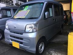 沖縄の中古車 ダイハツ ハイゼットカーゴ 車両価格 61万円 リ済込 平成24年 8.6万K シルバー