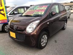 沖縄の中古車 マツダ キャロル 車両価格 41万円 リ済込 平成24年 8.9万K ブラウン