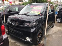 沖縄の中古車 ホンダ ゼストスパーク 車両価格 58万円 リ済込 平成23年 7.8万K ブラック