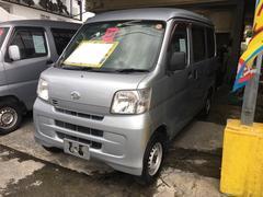 沖縄の中古車 ダイハツ ハイゼットカーゴ 車両価格 43万円 リ済込 平成23年 10.2万K シルバーM