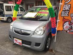 沖縄の中古車 ダイハツ ミラ 車両価格 30万円 リ済込 平成24年 8.1万K ブライトシルバーメタリック