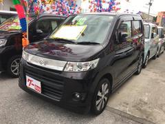 沖縄の中古車 スズキ ワゴンRスティングレー 車両価格 55万円 リ済込 平成24年 9.1万K ミステリアスバイオレットパール