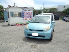 沖縄の中古車 トヨタ パッソ 車両価格 17万円 リ済込 平成18年 10.9万K ブルー