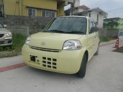 沖縄の中古車 ダイハツ エッセ 車両価格 25万円 リ済込 平成20年 9.0万K イエロー