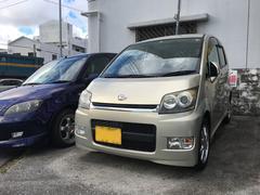 沖縄の中古車 ダイハツ ムーヴ 車両価格 39万円 リ済込 平成19年 5.6万K ライトゴールド