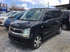 沖縄の中古車 マツダ AZワゴン 車両価格 30万円 リ済別 平成20年 9.7万K ブラック