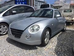 沖縄の中古車 ダイハツ コペン 車両価格 48万円 リ済別 平成14年 5.3万K シルバー