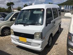 沖縄の中古車 スバル サンバーバン 車両価格 28万円 リ済別 平成19年 13.9万K ホワイト