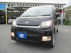 沖縄の中古車 ダイハツ ムーヴ 車両価格 52万円 リ済込 平成20年 7.9万K ブラック