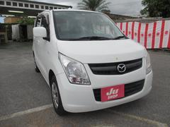 沖縄の中古車 マツダ AZワゴン 車両価格 52万円 リ済込 平成23年 7.0万K ホワイト