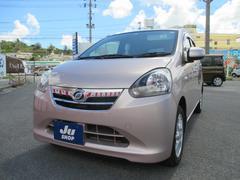 沖縄の中古車 ダイハツ ミライース 車両価格 60万円 リ済込 平成25年 4.5万K ピンク