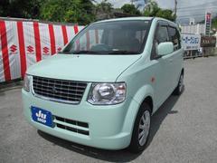 沖縄の中古車 三菱 eKワゴン 車両価格 48万円 リ済込 平成24年 6.4万K ミントグリーンソリッド