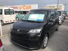 沖縄の中古車 トヨタ スペイド 車両価格 118万円 リ済別 平成26年 1.2万K ブラック