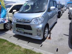沖縄の中古車 ダイハツ タントエグゼ 車両価格 93万円 リ済別 平成24年 2.5万K シルバー
