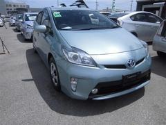 沖縄の中古車 トヨタ プリウス 車両価格 119万円 リ済別 平成24年 6.1万K グリーン