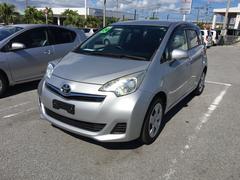 沖縄の中古車 トヨタ ラクティス 車両価格 69万円 リ済別 平成24年 5.2万K シルバー