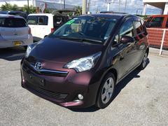 沖縄の中古車 トヨタ ラクティス 車両価格 75.6万円 リ済別 平成24年 4.0万K ダークパープル