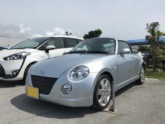 沖縄の中古車 ダイハツ コペン 車両価格 78万円 リ済別 平成17年 7.6万K シルバー