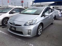 沖縄の中古車 トヨタ プリウス 車両価格 129万円 リ済別 平成22年 4.2万K シルバー