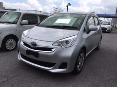 沖縄の中古車 トヨタ ラクティス 車両価格 89万円 リ済別 平成26年 4.5万K シルバー